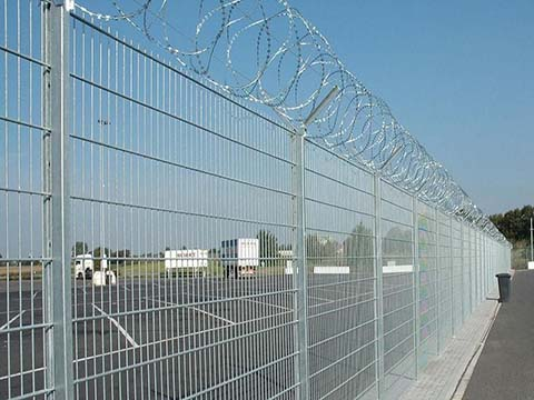 GI Wire Mesh Fencing