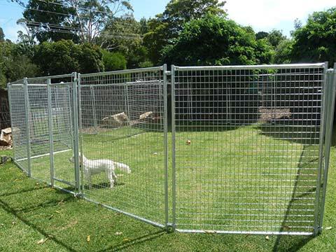 Galvanised Welded Mesh Fence