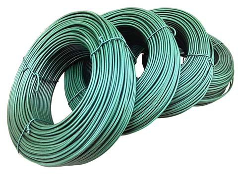 Plastic Coated Wire Coils