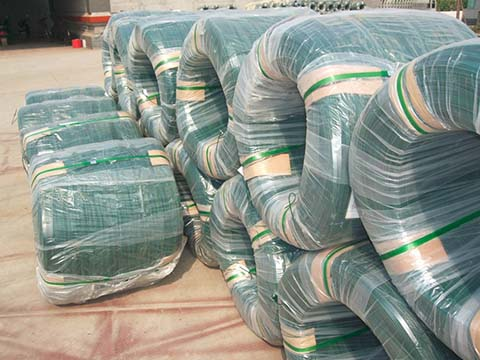 Packaging of PVC GI Wires