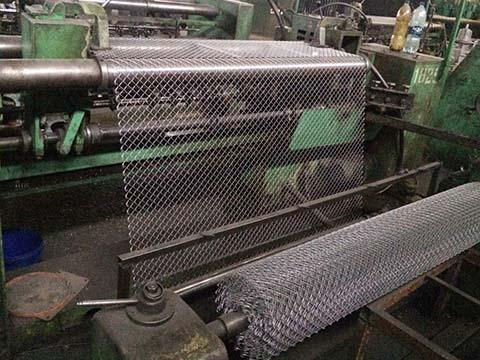 Diamond Wire Mesh Production Line