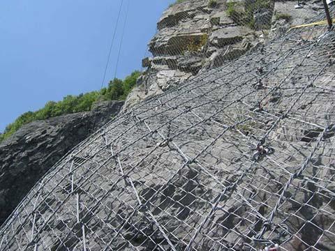 Galvanized Diamond Wire Mesh Use