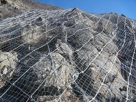 GI Wire Mesh For Slope Protection