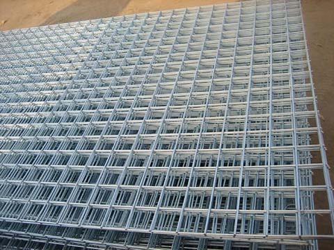 Galvanized Square Mesh Panels