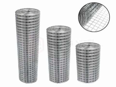 Different Sizes of Galvanized Wire Mesh Rolls