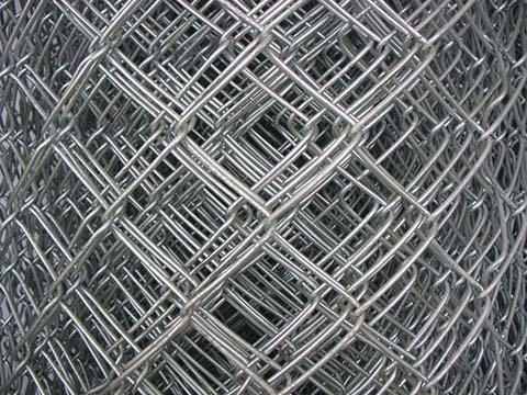 Galvanised Diamond Wire Mesh