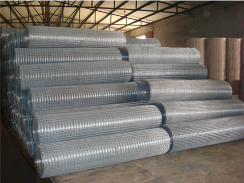 Large Stock of Galvanized Steel Wire Mesh