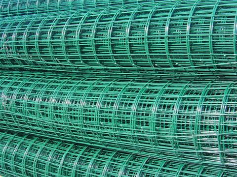 PVC Coated GI Wire Mesh | Plastic Coated Welded Mesh