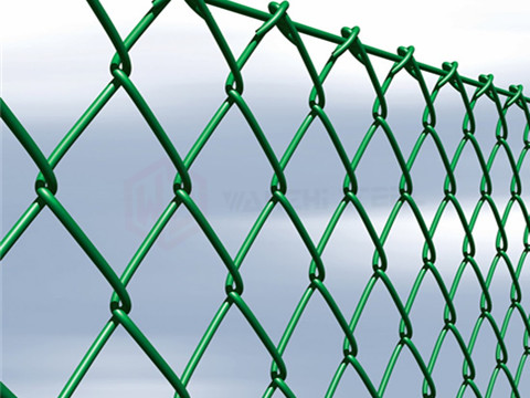 Green PVC Coated Galvanized Wire Mesh