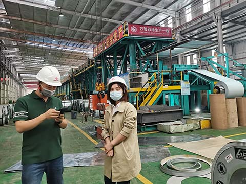 Welcome to Visit Wanzhi Color Coating Line