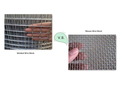 Welded Wire Mesh VS Woven Wire Mesh