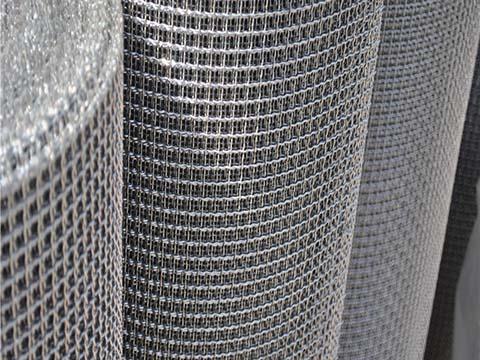 Galvanized Steel Woven Mesh Roll